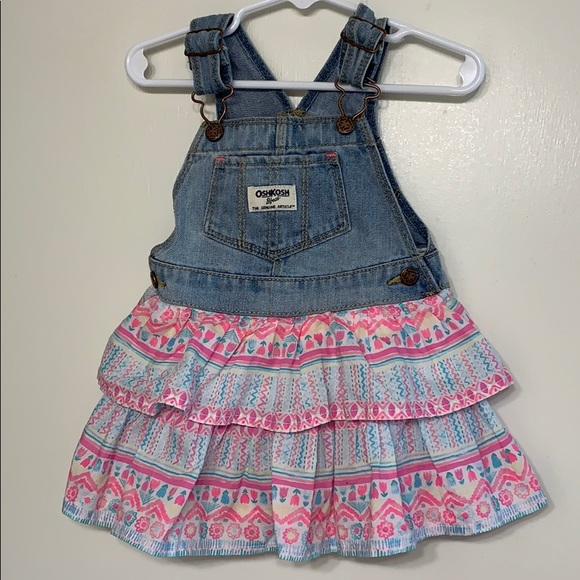OshKosh B'gosh Other - Osh Kosh | Baby Girl Overall Dress - 18 Months